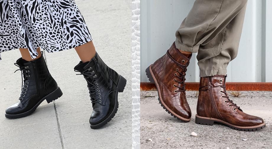 Krodkodilji vzorec na čevljih