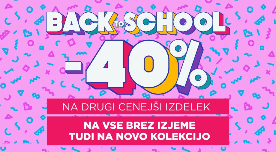 Akcija:  Nazaj v šolo!