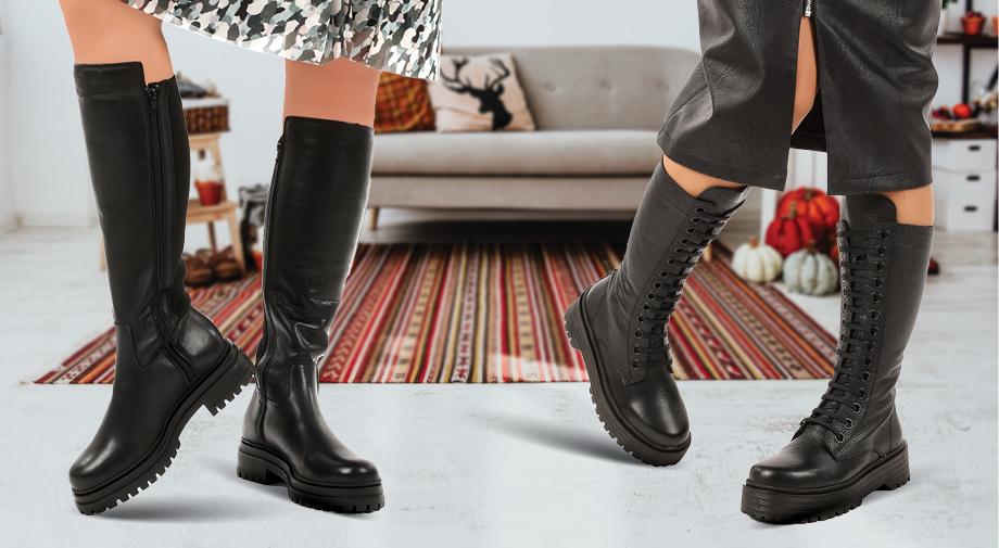 Popolna obutev za jesen!
