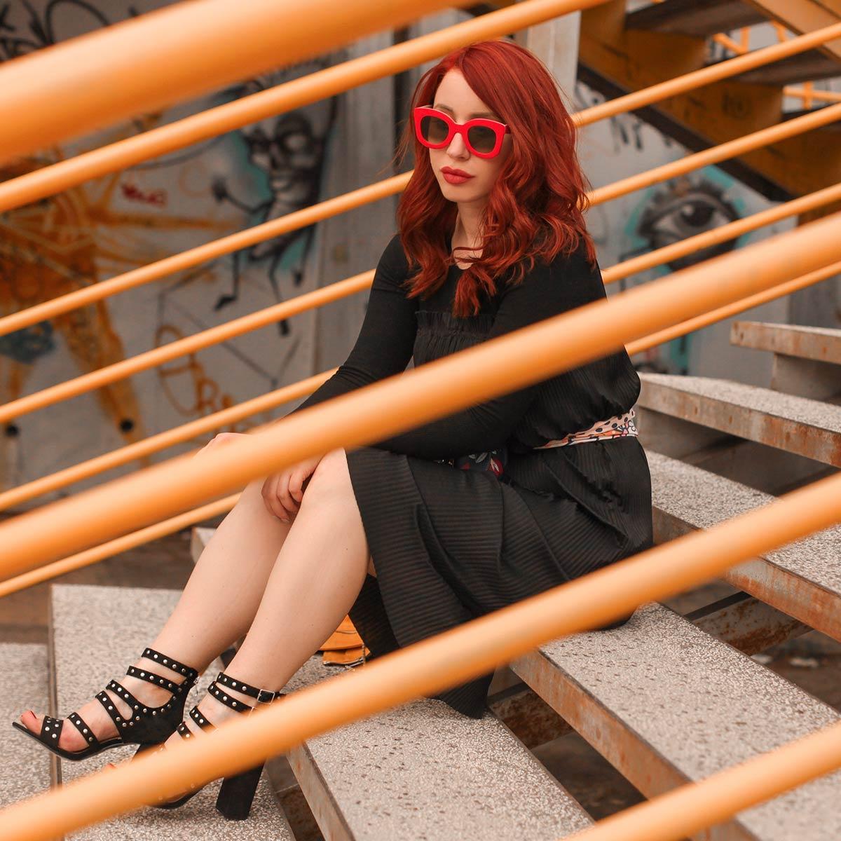 Lucija Kontić: Črno obožujem tudi poleti