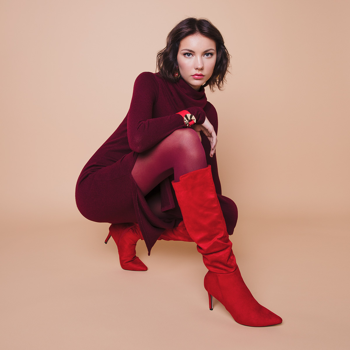 Petra Windschnurer: Zgodba o rdečih škornjih