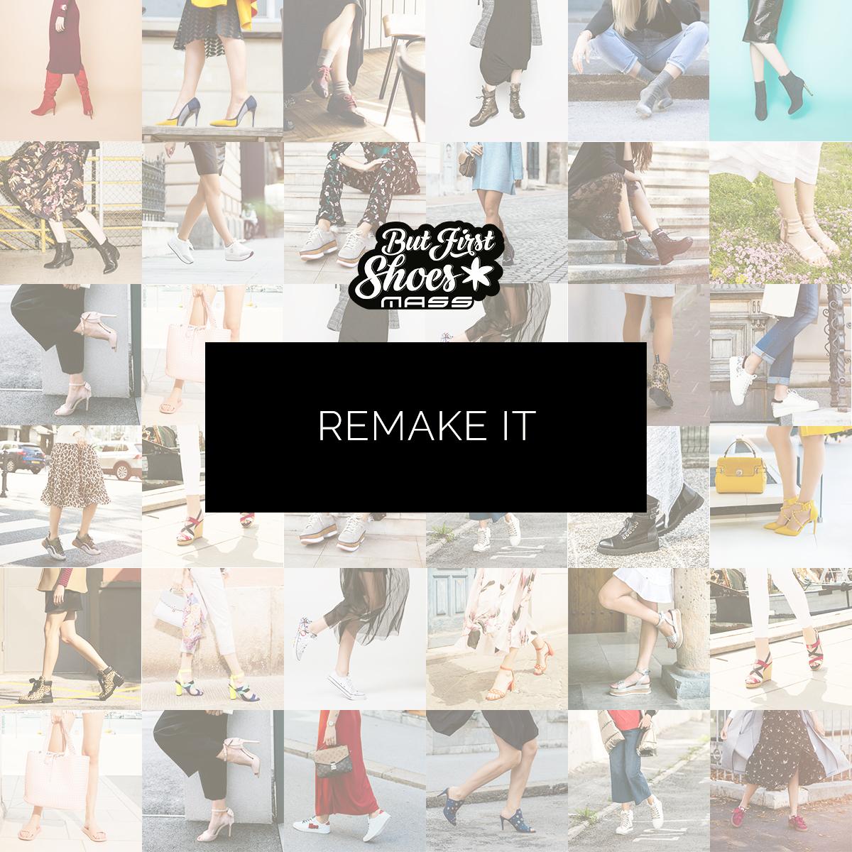 Osvoji nove čevlje z ReMake it!