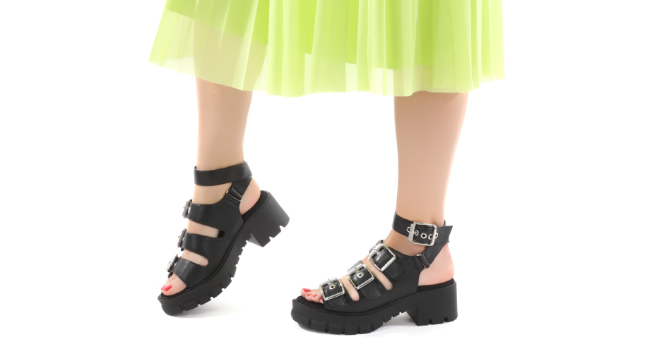 Kako nosimo sandale s platformo?