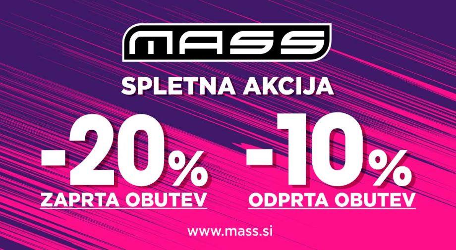 -20% na ZAPRTO in -10% na ODPRTO obutev samo na spletu!