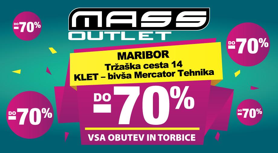 Outlet Maribor zopet tu od 25.8.2020