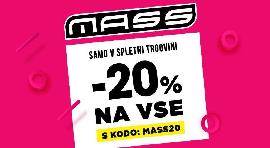 -20% na VSE s KODO MASS20